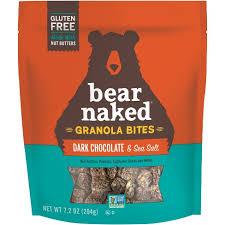 Bear Naked Gluten Free <b>Dark Chocolate Sea</b> Salt Granola <b>Bites</b> - 7oz