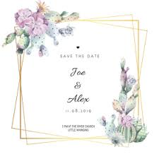 Save The Date Cards Template Save The Date Card For Your Wedding Postermywall