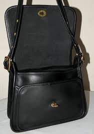 ... CLASSIC COACH LEGACY RAMBLER Bag 9061 BLACK LEATHER CROSSBODY MESSENGER  Roll over Large image to magnify, click Large image to zoom ...