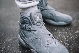 jordan 8 cool grey. cool grey. we\u0027ve seen this finish on classic silhouettes such as the air jordan 3, 4 and 11. not brand brings 8 grey g