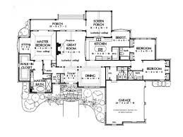 Contemporary House Plans One StoryImpressive single story luxury house plans modern one story house floor plans