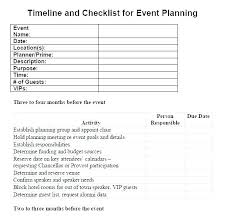 Free Event Planner Templates Free Event Planner Checklist Template Party Planning Excel