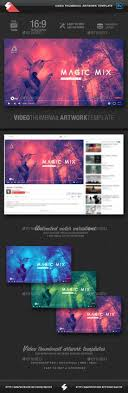 Video Website Template Stunning 48 Best YouTube Video Thumbnail Artwork Templates Images On