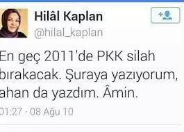 """Hilâl Kaplan on Twitter: """"Akademisyenlerin PKK bildirisi imzalamasına kadar  gelen süreçte yaşananları hatırlatan iyi bir kronoloji:… """""""