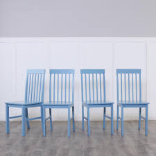 blue dining room furniture. Walker Edison Furniture Company Greyson 5-Piece White And Powder Blue Dining Set Room