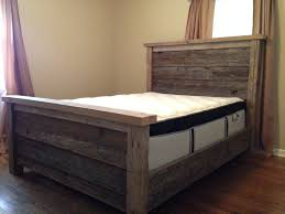 bed plans with drawers how to build simple frame no mortise rail brackets surface mounted keyhole