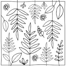 garden coloring sheets