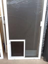 slider with pet door