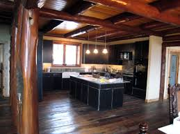 kitchen design cabinets log cabin kitchens interior design ideas