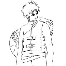 Cartoon Naruto Coloring Pages Coloring Page For Kids