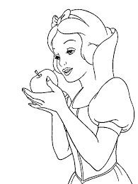 Small Picture Snow white coloring pages eat apple ColoringStar