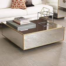 mirrored coffee tables coffee table