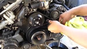 2001 bmw e46 engine diagram bmw e46 e39 serpentine and ac belt removal 530 525i 330 325