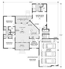 House Plan at FamilyHomePlans comTraditional House Plan Level One