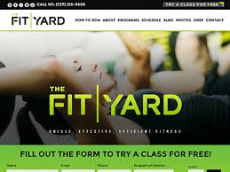 gym website design fitness crossfit affiliate website design sitefi web design