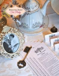Tea Party Free Printables Downton Abbey Tea Party Free Printable Downton Abbey