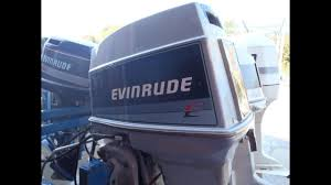 6m1b18 used 1988 evinrude e70tlcca 70hp 2 stroke outboard boat motor 20 shaft