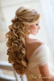 Image Coiffure Mariage Cheveux Boucles Mi Long Coiffure