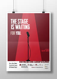 Talent Show Poster Designs Talent Show Poster On Behance