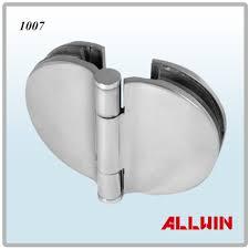180 degree glass to glass semicircular glass door cabinet hinge