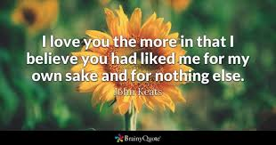 I Love You More Quotes Magnificent Romantic Quotes BrainyQuote