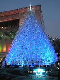 10 Amazing Upcycled Christmas Trees From All Around The World