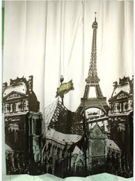 eiffel tower bathroom decor  cheap eiffel tower shower curtain hooks find eiffel tower shower