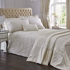 cream duvet cover elegant spencer luxury woven jacquard beautiful covers throughout 2