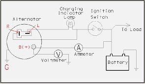 wiring diagram alternator davehaynes me chevy 1 wire alternator diagram