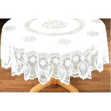 90 inch round vinyl tablecloth qualified table covers circular lace