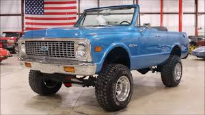 Blazer chevy blazer : 1971 chevy Blazer blue - YouTube