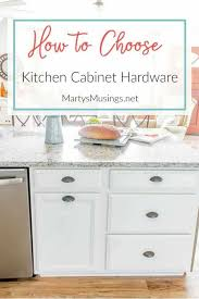learn how to choose kitchen cabinet hardware whether you re designing a kitchen from scratch