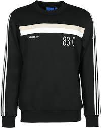 adidas 83 c. adidas 83-c crew sweater black 83 c stylefile