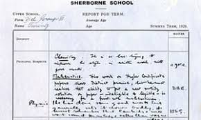 alan turing s school report reveals little of his genius science  alan turing s school report which is part of the codebreakers and groundbreakers exhibition in cambridge