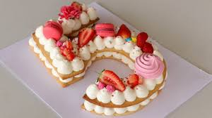 Number Cake Alphabet Cake How To Make Cream Tart Youtube