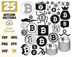 Bitcoin logo vector clipart and illustrations (7,031). Bitcoin Logo Etsy