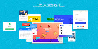 31 Awesome And Free Ui Kits For Mockups And Wireframes