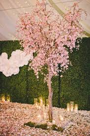 Cherry Blossom Backdrop Picture Of Ceremony Backdrop