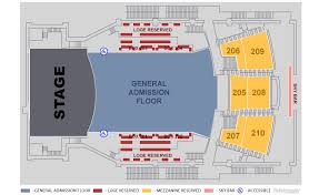 Wango Tango Seating Chart Ted Nugent On August 16 At 8 P M