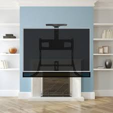 Mantel TV Wall Mount Fireplace And Soundbar Mount