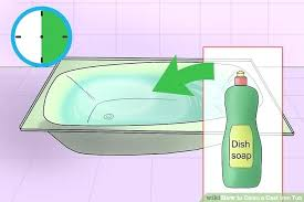best thing to clean bathtub image titled clean a cast iron tub step 1 best thing to clean bathtub