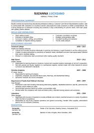 Resume Example Foreign Language Teacher Examples Templates