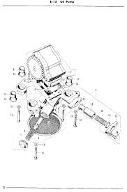 cb750 sohc diagrams oil pump parts 1