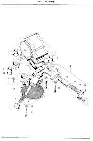 cb sohc diagrams oil pump parts 1