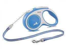 <b>Flexi</b> - Walk - <b>DogFlexi New Comfort</b> S (<b>cord</b> 5m) blue - Vadigran