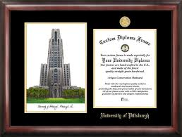 university of pittsburgh gold embossed diploma frame  university of pittsburgh gold embossed diploma frame lithograph