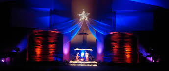 Church Stage Design Ideas barned