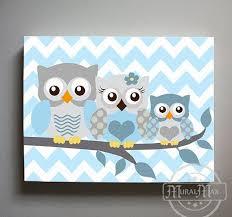 owl decor owl nursery art