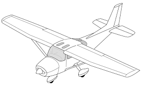 Image result for drawings of a small airplane flying overhead