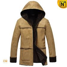 hooded leather fur jacket cw878092 cwmalls com